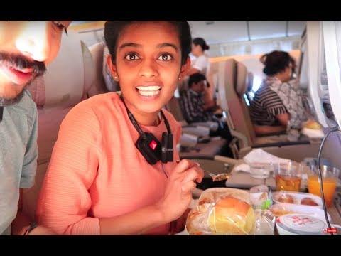 ദുബായ് ടു ബാംഗ്ലൂർ ഫ്ലൈറ്റ് | ഫ്ലൈറ്റ് ഭക്ഷണം  DUBAI TO BANGALORE EMIRATES| FLIGHT FOOD REVIEW |