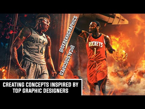 Creating Concepts Inspired By Top Designers! | Derek Ho | Photoshop Process | Cal So Scoped