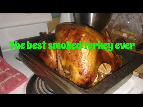 The best Smoked turkey ever