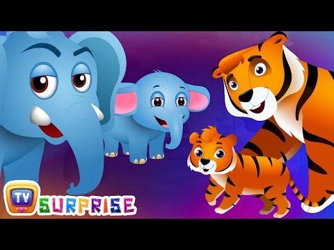 Thumbnail: Surprise Eggs Wildlife Toys | Learn Baby Wild Animals & Animal Sounds | ChuChu TV Surprise for Kids