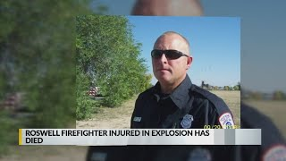 Roswell firefighter dies