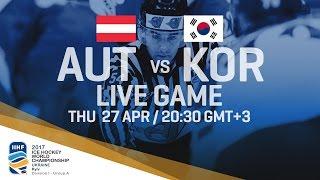 Austria - Korea | Full Game | 2017 IIHF Ice Hockey World Championship Division I Group A