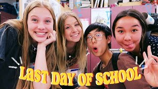 i vlogged the last day of high school