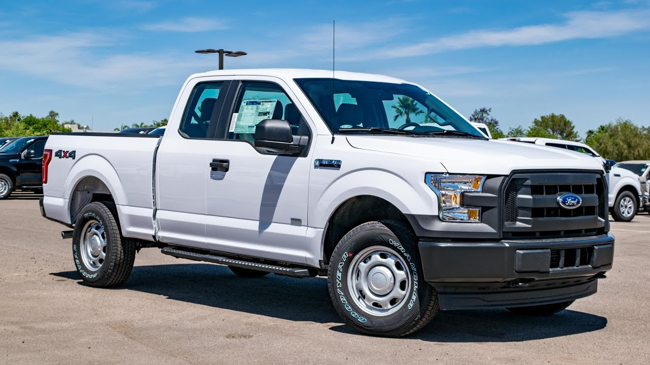 2017 ford f 150 xl supercab walkaround