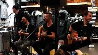 BRDIGUNG - Pures Gift für mich Akustik live EMP Store Essen 31.01.2020