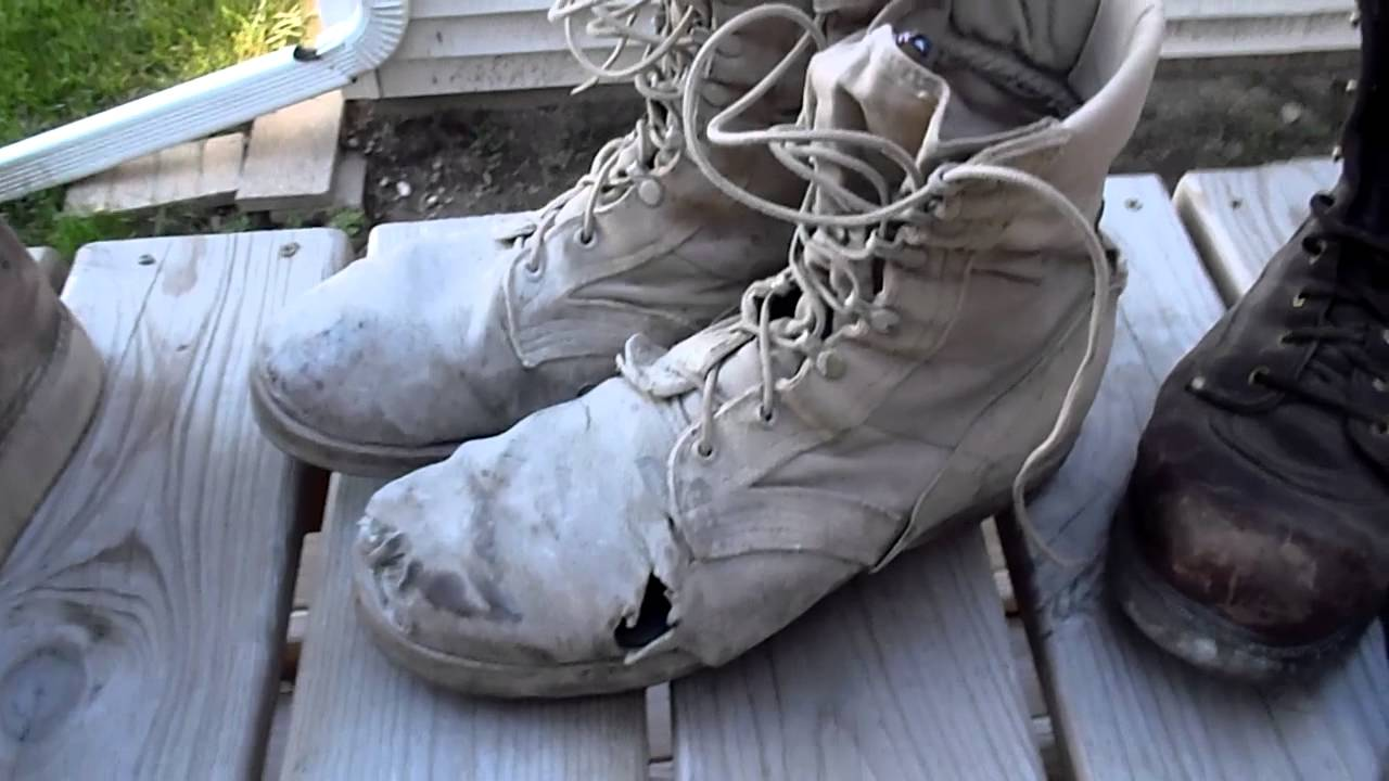 Sears Diehard VS. ARMY boots VS. Mills