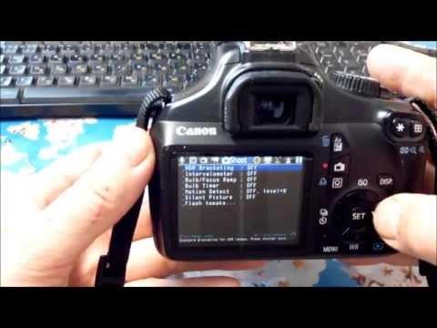 Установка Magic Lantern на Canon 1100D