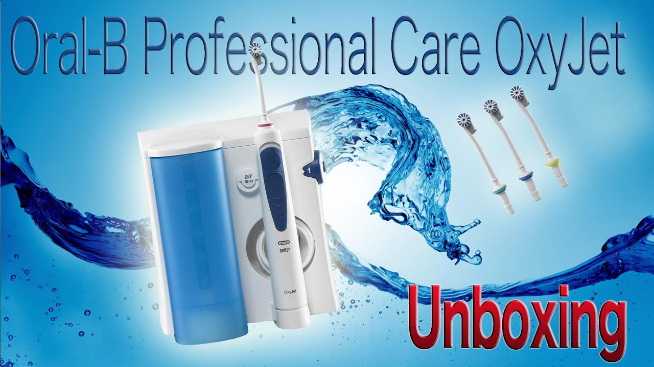 oral b professional care oxyjet unboxing youtube. Black Bedroom Furniture Sets. Home Design Ideas