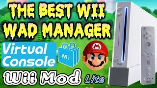 Setup WiiMod Lite WAD Manager! (Install Virtual Console Games & WAD