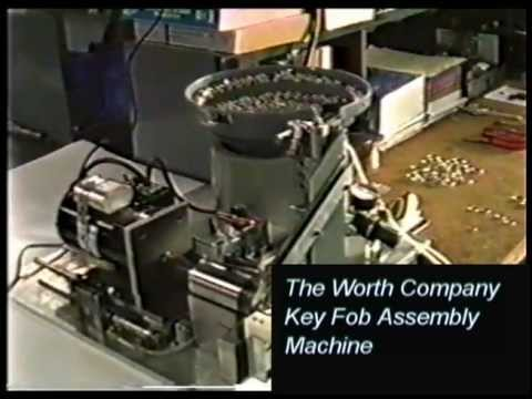 The Worth Company Key Fob Assembly Machine
