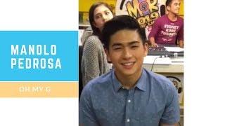 Birthday Greeting from Manolo Pedrosa (Oh My G) Filipino Celebrity