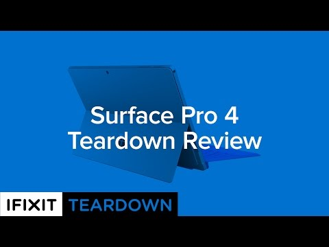 Surface Pro 4 Teardown Review!