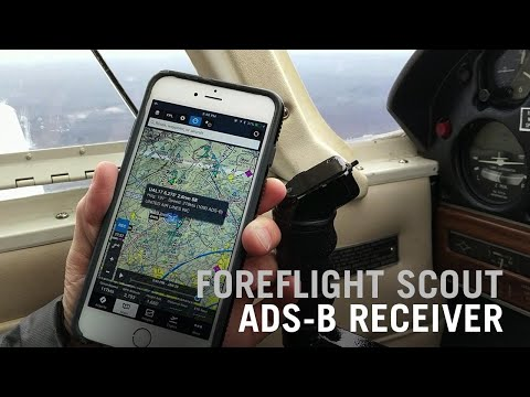 ForeFlight Scout ADS-B Receiver Unboxing and Review – AINtv
