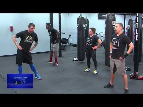 Stayin' Fit Title Boxing Club Part 1