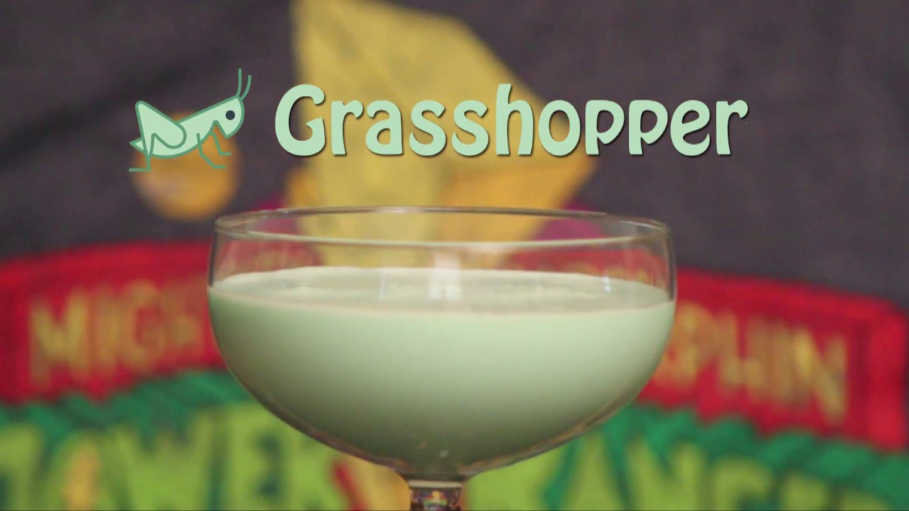 Grasshopper Drink Recipe - Dessert Cocktails - YouTube - photo#45