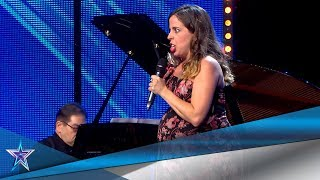 PREGNANT Woman SHOCKS The Judges With Her AMAZING VOICE | Auditions 5 | Spain's Got Talent Season 5