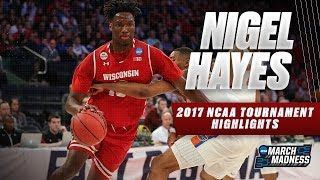 2017 NCAA Tournament: Wisconsin's Nigel Hayes