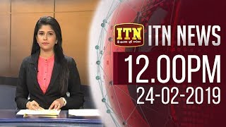 ITN News 12.00 PM - 24th February 2019