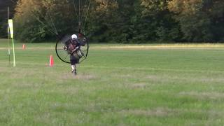 Windsock: powered paraglider meets one: WARNING: egos were injured in making this video!