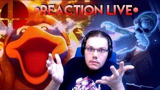 Super Smash ULTIMATE - LIVE Réaction [123Lunatic]