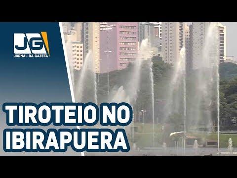 Perseguição policial e tiroteio no Ibirapuera
