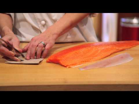 How To Remove The Pin Bones From Salmon, Trout Or Char