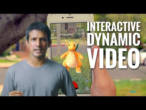 Interactive Video for Augmented Reality Apps