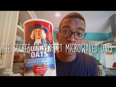 The Secret to Perfect Microwaved Oats!!!
