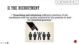 Unit 3 hr planning - recruitment and selection