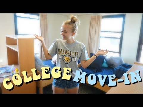 COLLEGE MOVE IN VLOG 2018 | Marquette University