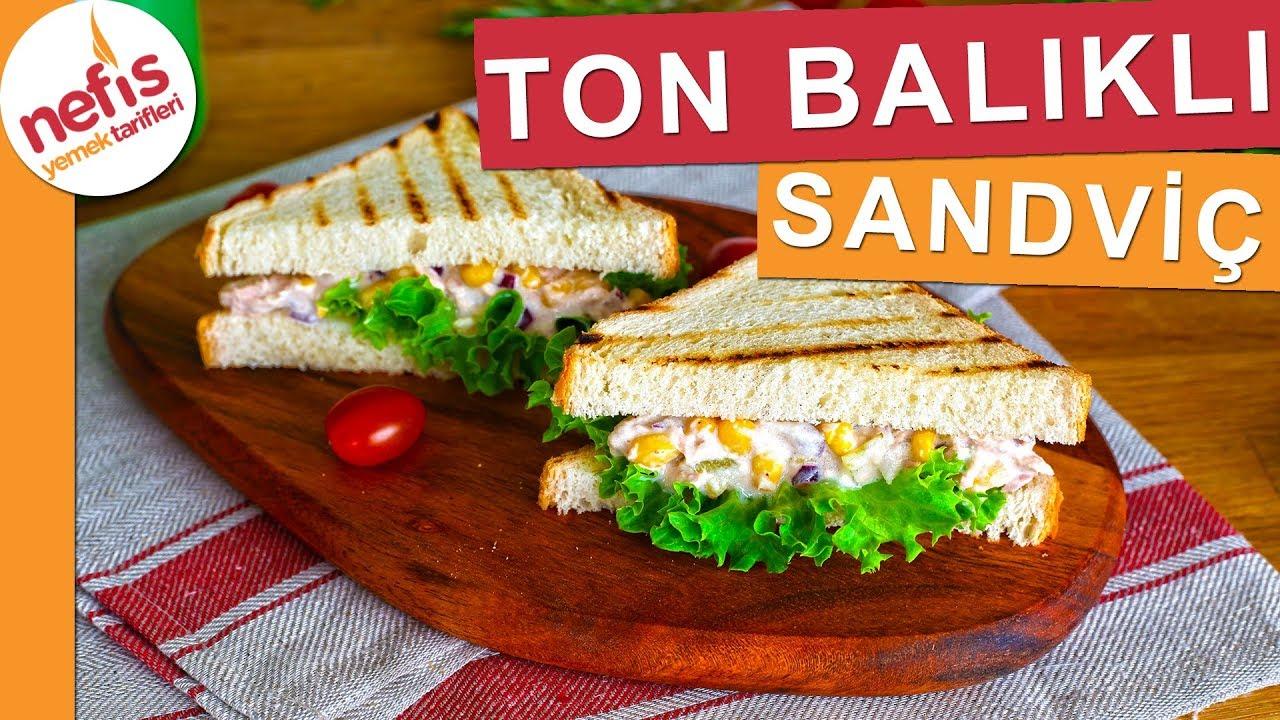 Ton Balıklı Sandviç Yapılışı Videosu