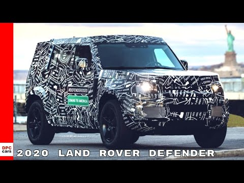 New 2020 Land Rover Defender Confirmed For USA Debut