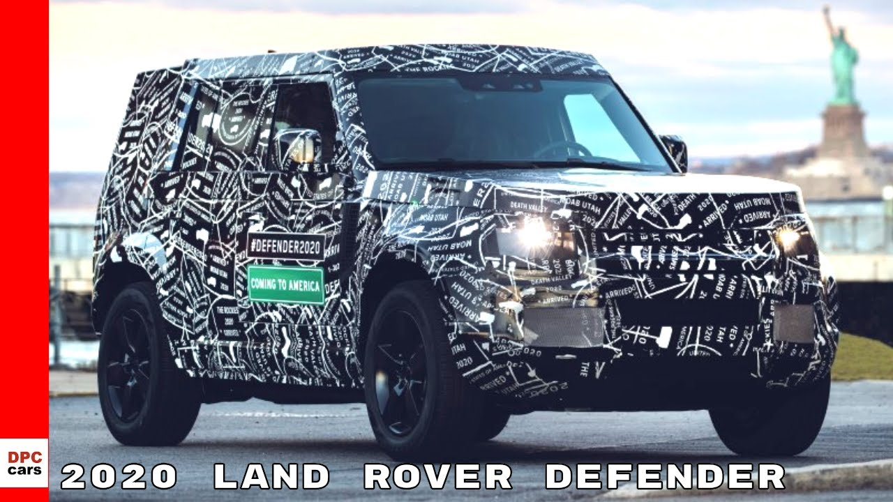 New 2020 Land Rover Defender Confirmed For Usa Debut Youtube