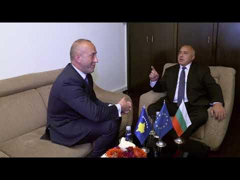 Бойко Борисов: С премиера на Косово Рамуш Харадинай обсъдихме евроинтеграцията на Западните Балкани. Отново изложих тезата си, че спокойствието на Балканите е изключително важно за Европа и всички ние трябва да работим за обединението на отделните народи.