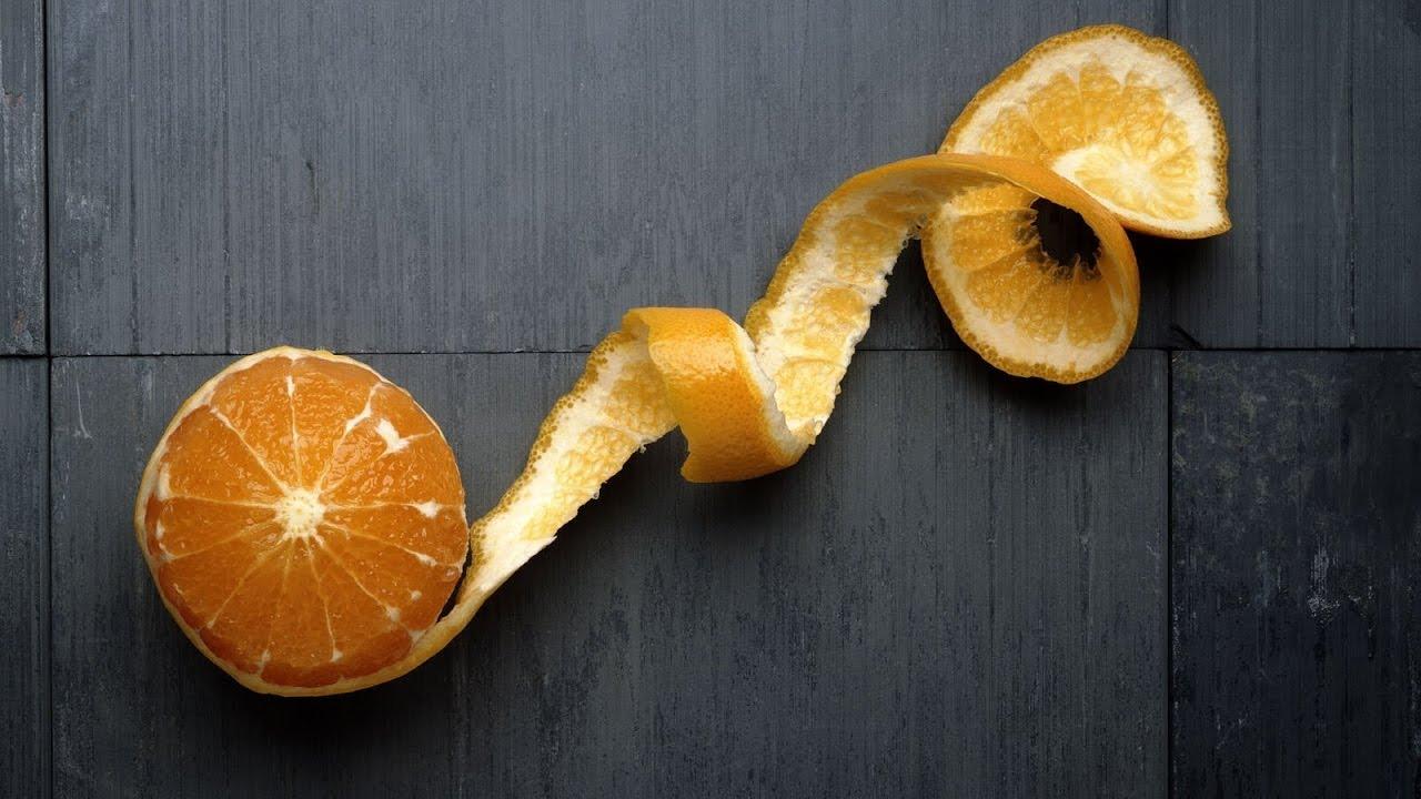 Апельсиновые корки для похудения