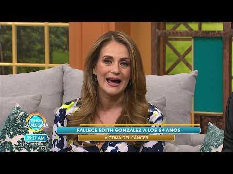 ¡ÚLTIMA HORA! ¡Muere Edith González!