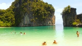 Hong Island Tour-The Best Bits, Krabi, Thailand. Koh Hong - the lagoon, the beach and other parts