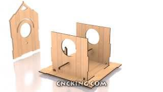 Bird House E: 3d Assembly Animation