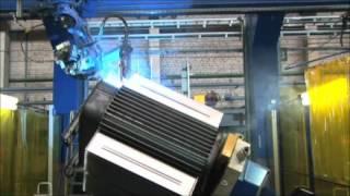 Сварка гофрированных баков трансформаторов ТМГ(, 2012-07-04T10:48:57.000Z)