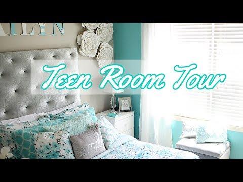 Teen Bedroom Tour - Daughter's Room Makeover Finale