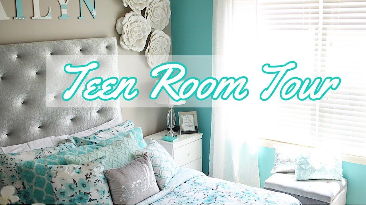 Teen Bedroom Tour Daughter S Room Makeover Finale Youtube