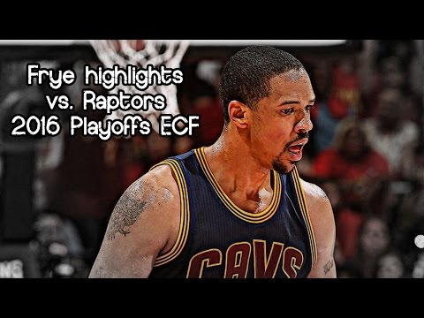 Channing Frye 12 pts & 6 reb @ Raptors (2016 NBA Playoffs ECF G4) - 23.05.2016