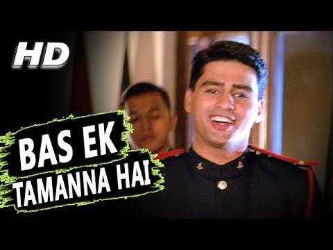 Bas Ek Tamanna Hai Dilbar Mere Dil Mein | Kumar Sanu, Alka Yagnik | Salaami 1994 Songs | Ayub Khan