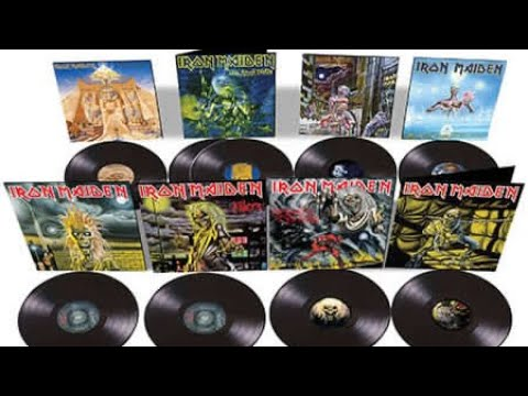 Iron Maiden : The Complete Albums Collection 1980 – 1988 boxset