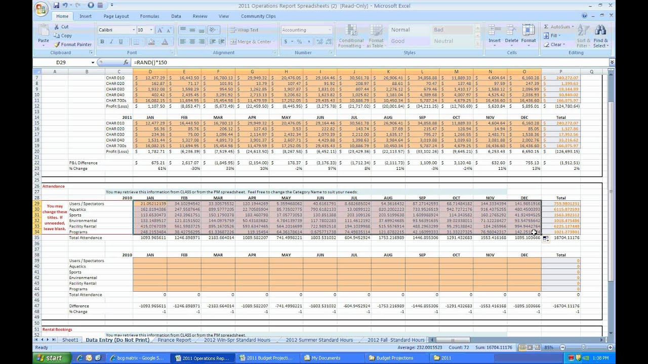 Solved: Complete The History Portion Of The Premium Widget ... |Operations Spreadsheet