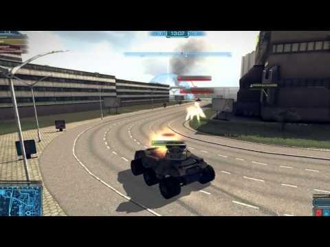 Игра гонки-стрелялки на машинах