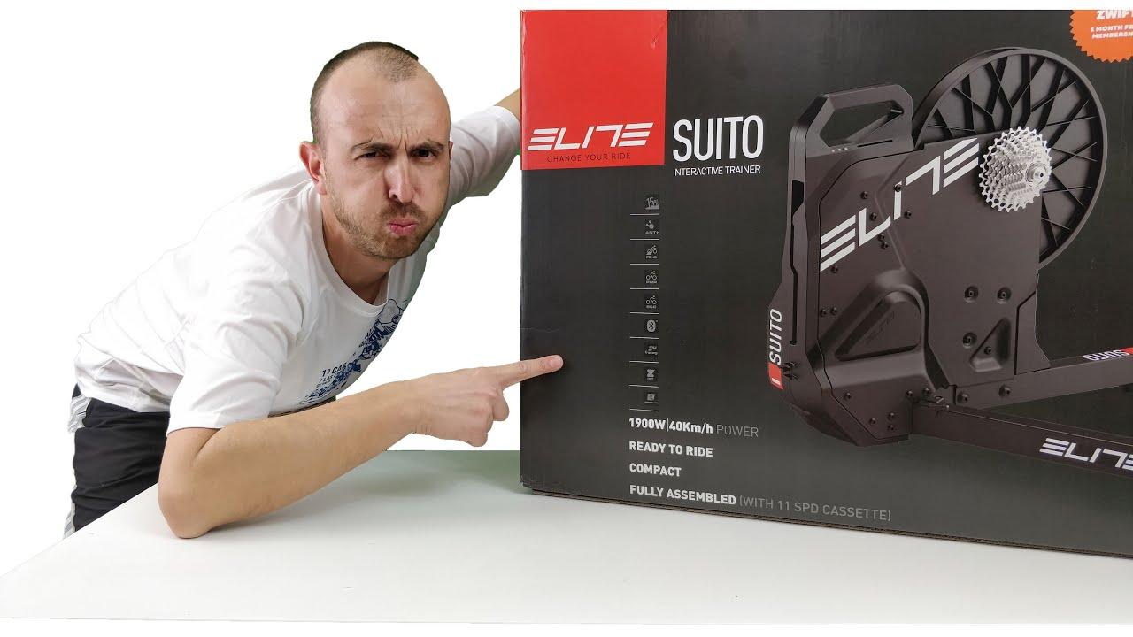 Rodillo de bicicleta para entrenamiento Elite Suito