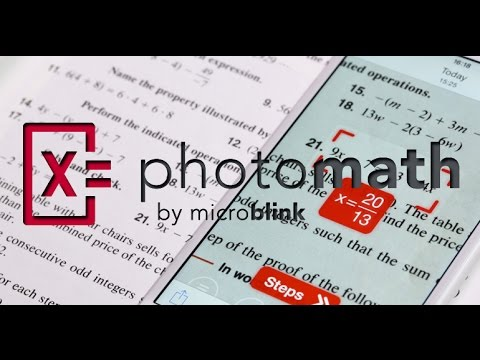Aplicacion para resolver problemas matematicos photomath android apk ...