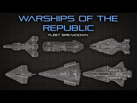 Star Wars: The Warships Of The Republic