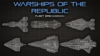 Star Wars The Warships of the Republic